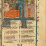 Figure 7: Manuscrit BnF fr 802, f. 1r (de l'atelier Montbaston)