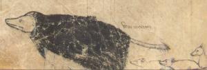 Figure 12: Manuscrit Walters 143, f. 72v (détail)